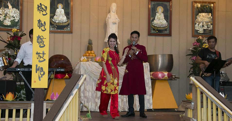 Tiệc Thanh Trai Xây Dựng Thiền Viện Tường Vân