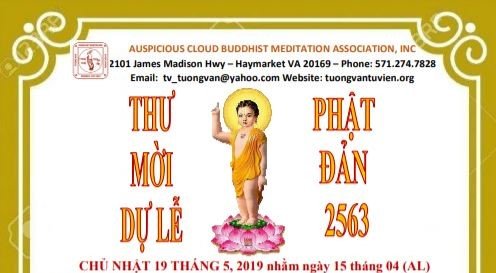 Đại Lễ Phật Đản 2019